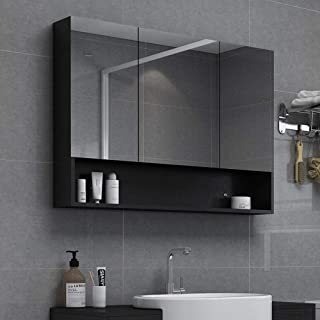 Cabinet Mirrored Bathroom, bathroom cabinet with m Mirrored Cabinet Wall/Mirror Cabinet Wall Mounted Bathroom Mirror /LED Illuminated Bathroom Mirror Cabinet With Demister Heat Pad And Shaver Socket W