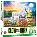 MasterPieces Glow in the Dark 300 Puzzles Collection - Bedtime Stories 300 Piece Jigsaw Puzzle, 18'X24'