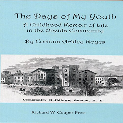 The Days of My Youth audiobook cover art