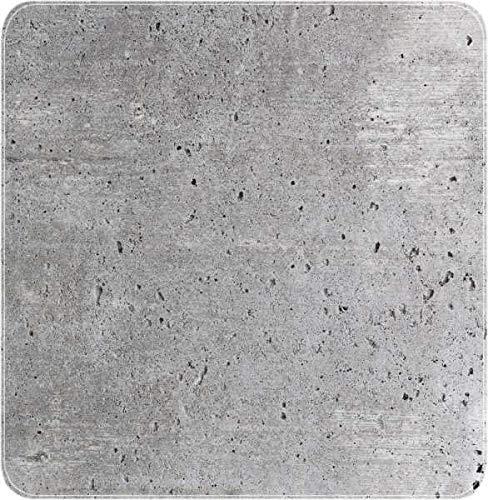 WENKO Duscheinlage Concrete, Duschmatte, Badewanneneinlage, Anti Rutsch Matte, Quadratisch, Mehrfarbig, 55 x 55 cm