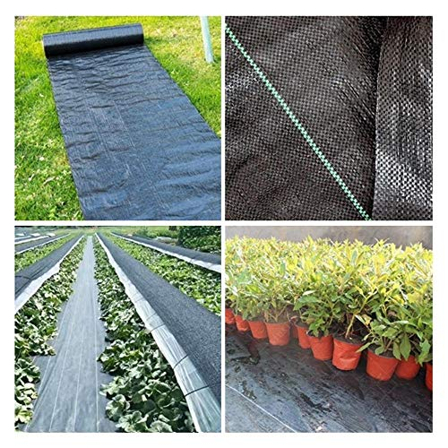 5m Weed Barrier Fabric Agriculture Greenhouse Garden Weed Control Orchard Landscape Plant Weeding Ground Cloth Cover PE Braiding|Plant Covers|Weed Control Fabric