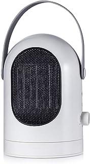 KOKIN Calefactor Portátil Eléctrico PTC Calefacción de Cerámica 600W Oscilación Automática,Mini Calentador con 3 Ajustes de Temperatura,Protección contra Sobrecalentamiento Seguridad Hogar Oficina