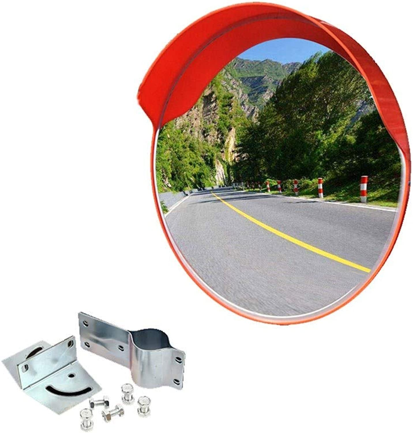 Traffic Security Blind Spot Mirrors Driveway Alley Garage Hospital Wide Angle Mirror Car Park,60cm