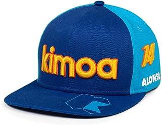 KIMOA Plana Gorra de béisbol, Unisex Adulto