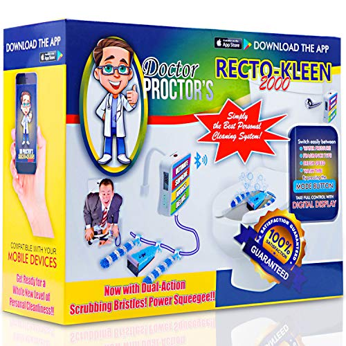 Prank Gift Boxes, Inc. Dr. Proctor's Recto-Kleen 2000! Prank Box for Adult or Kids! Prank Gift Box/ Gag Box for Fun Present Giving! The Fake Joke Box for Lovers of Funny Gag Gifts and Funny Pranks