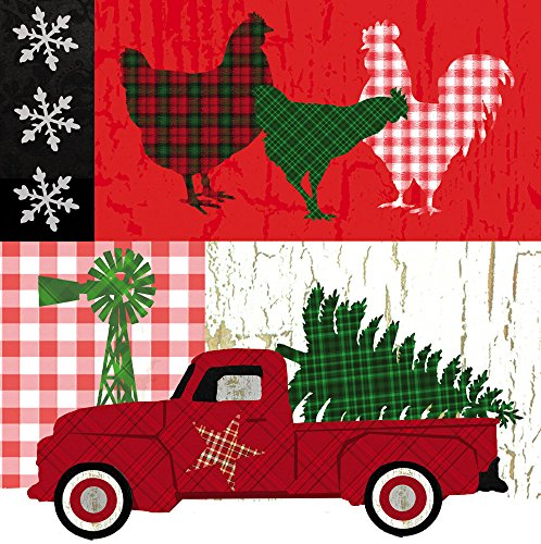Christmas Farm House Napkins