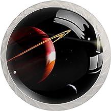 Planet Jupiter Space Set van 4 Lade Knoppen Trekt Kast Handvat voor Thuis Keuken Garderobe Kast Home Decor Hardware Pull K...