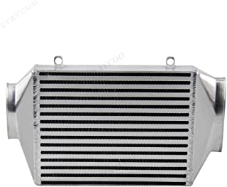 STAYCOO 60MM Core Top Mount Supercharger Aluminum Intercooler for BMW Mini Cooper S R53 2002-2006