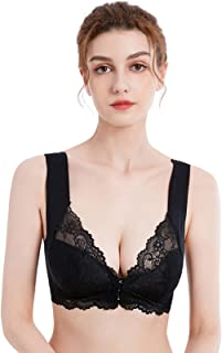 Bralettes voor Vrouwen Sora Bra 5D Shaping Naadloze Frontsluiting Grote Size Verstelbare Strap Push-up Kant Geen Trace Sch...