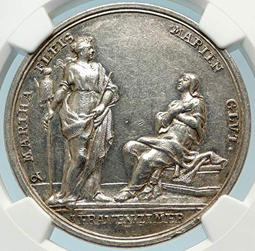 1000 GR GERMANY Antique Greek Goddesses Athena VIRTUES An coin Good NGC