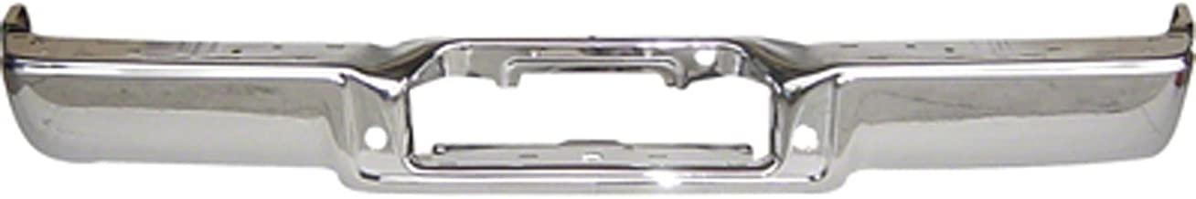 Chrome FO1102349 Rear Bumper Face Bar for Ford F-150, Lincoln Mark LT