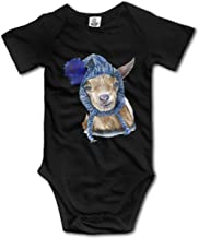 FRTSFLEE Lawson The Goat Baby Onesies Bodysuit Unisex Short-Sleeve Toddler Clothes Cute