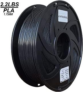 Black PLA 3D Printing Filament 1.75 mm, 2.2 LBS (1KG) Dimensional Accuracy +/- 0.02 mm (Black PLA)