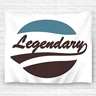 YILINGER Tapestry Wall Art Legendary Caligraphy Supported Wall Carpets 59.1