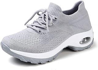 HKR Platform Sneakers Donna Leggero Casual Air Cuscino Scarpe da Ginnastica Outdoor