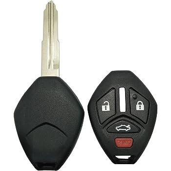 KeyGuardz Black Rubber Keyless Entry Remote Key Fob Skin Cover Protector EL-PN-47312808