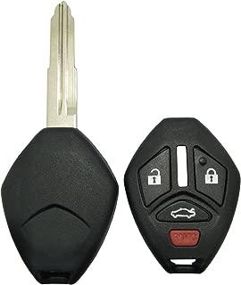 MagiDeal New 4 Button Remote Key Fob Shell Case for 2011 Mitsubishi Eclipse