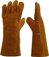 MERIGLARE 1 Par de Luvas de Proteção Equipamento de Soldagem Proteção de Isolamento Térmico