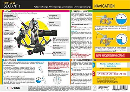 Sextant 1: Aufbau, Einstellungen, Winkelmessungen und terrestrische Entfernungsberechnungen