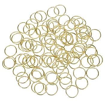 Best gold hair rings Reviews