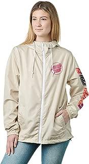 SANTA CRUZ Women's Hand Blocker Hooded Windbreaker Jackets