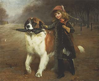 Off to School by Charles Burton Barber Art Print, 15 x 12 inches