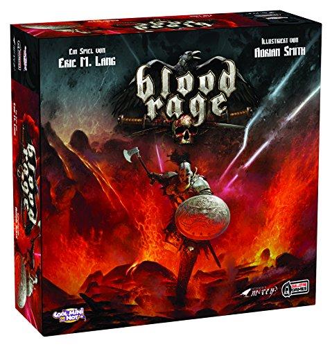Asmodee Blood Rage, Grundspiel, Expertenspiel, Strategiespiel, Deutsch