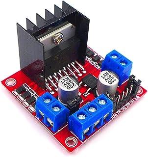 JZK L298N Dual H Puente DC de Conductor de Motor de Pasos de Controlador Board Conductor de Motores módulo para arduino pa...