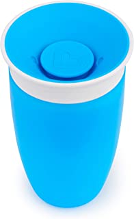 Munchkin Miracle 360 Degree Sippy Cup, 296 ml Capacity (colours may vary - green, pink, orange, blue)