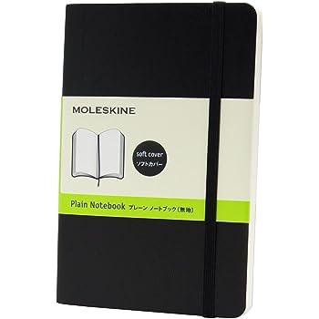 モレスキン ノート クラシック ソフト 無地 ポケット QP613 黒