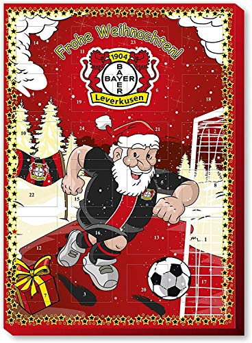 Fan-Shop Sweets Bayer 04 Leverkusen Adventskalender 2019 (one Size, Multi)