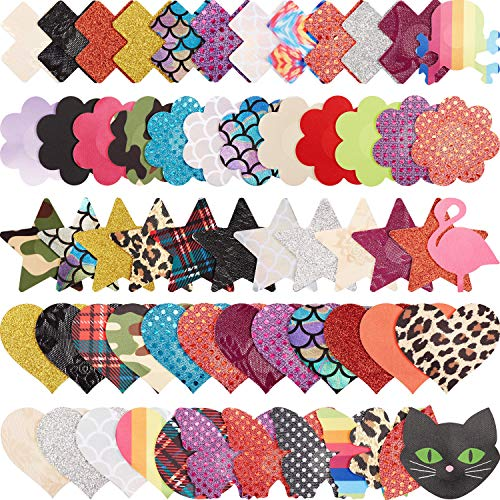 60 Pairs Women Pasties Disposable Nipple Cover Stickers Adhesive Breast Pasty