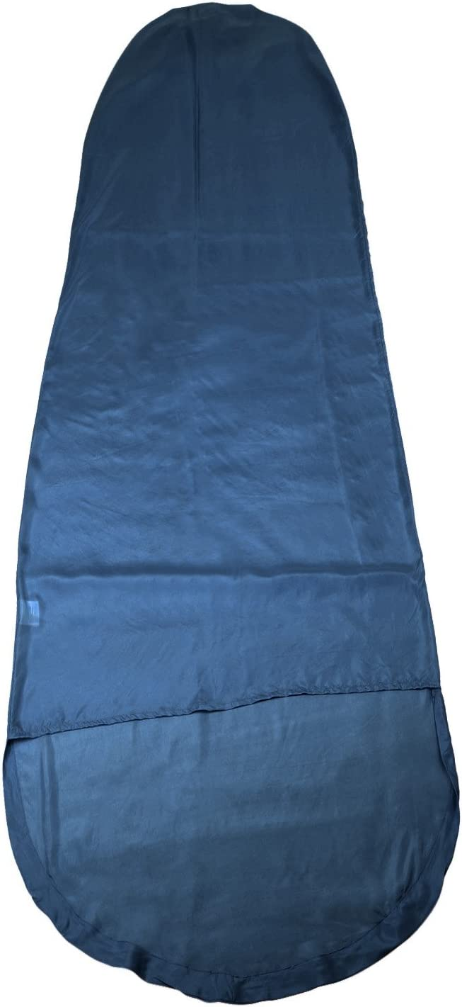 Yellowstone Fleece Mummy Sleeping Bag Liner 225 x 80 x 50cm