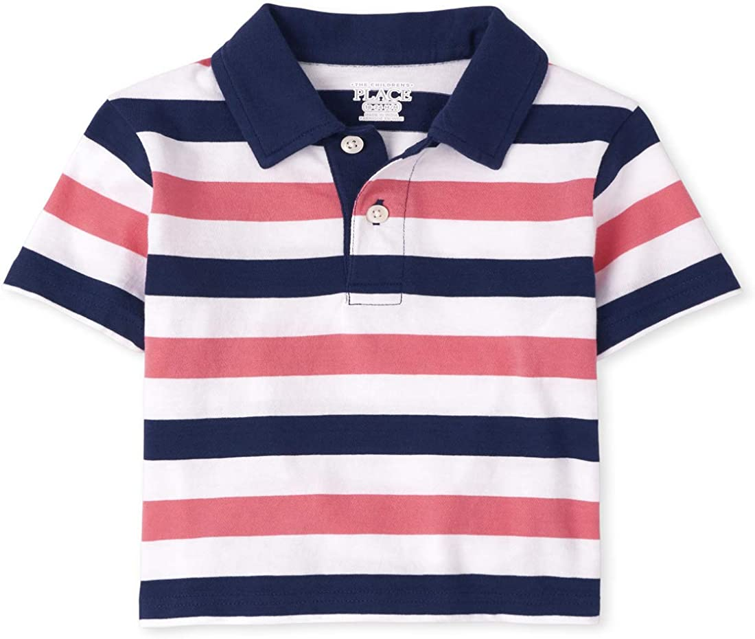 The Children's Place Baby Boys' Stripe Polos