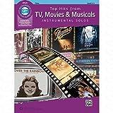 TOP HITS FROM TV MOVIES + MUSICALS - arrangiert für Querflöte - mit CD [Noten/Sheetmusic] aus der Reihe: INSTRUMENTAL SOLOS