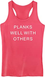 GROWYI Funny Workout Tank Tops Racerback for Women with Saying Fur Baby Mama Dog Animal Fitness Gym Sleeveless Shirts