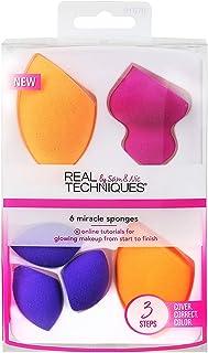 Real Techniques 6个奇迹肤色海绵化妆刷套装 美国直邮【亚马逊海外卖家】