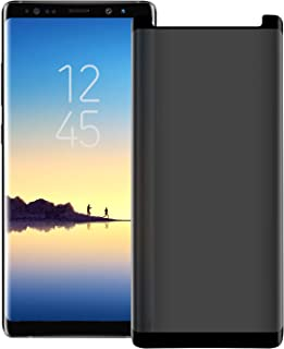 Galaxy Note 8 Screen Protector [3D Curved] [Case Friendly] [9H Hardness ] Privacy Tempered Glass Anti-Spy Protective Film,...