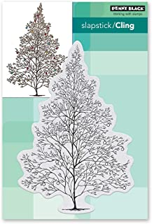 penny black 40-641 Cling Stamp Gray