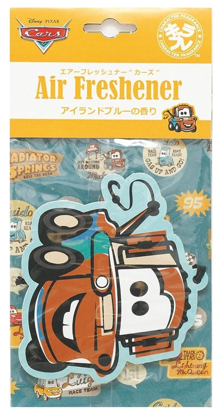 ハイキング熟した感染するディズニー エアーフレッシュナー カーズ 吊り下げ アイランドブルーの香り DIP-94-02
