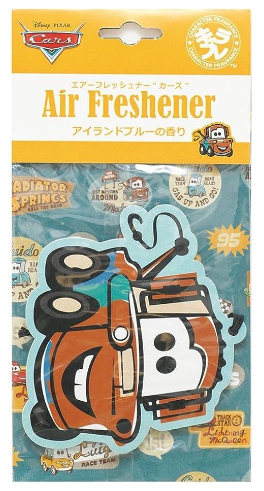 グラマー認証小麦ディズニー エアーフレッシュナー カーズ 吊り下げ アイランドブルーの香り DIP-94-02