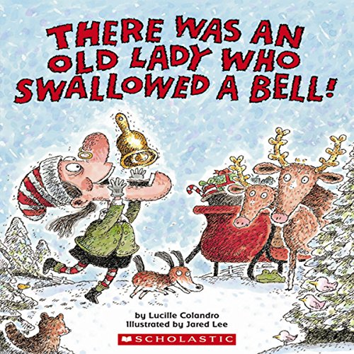 There Was an Old Lady Who Swallowed a Bell! audiobook cover art