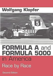 Formula A and Formula 5000 in America (German Edition)