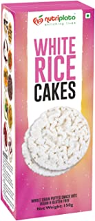Nutriplato-enriching lives White Rice Cake, 150 g