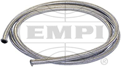 Empi Bug Air Cooled, 5' Length Braided Stainless Steel Intake/Fuel Line 1/4 I.D
