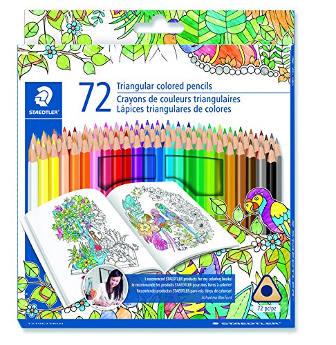 Staedtler Coloring Pencil Wood Colored Pencil 72-Count (1270C72BLU)