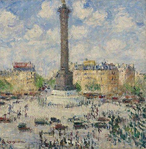 Das Museum Outlet–Der Platz der Bastille, 1927–A3Poster