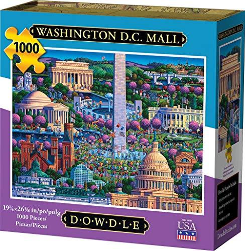 Dowdle Jigsaw Puzzle - Washington DC Mall - 1000 Piece