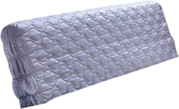 """Generic Luxury Silk Stretch Bed Headboard Slipcover Protector Cover 200cm Width 79"""" - Gray"""