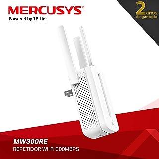 Mercusys MW300RE, 300Mbps, Repetidor Wireless WiFi , 2.4GHz, 3 * Antenas Externas, 2 Años de Garantía, Color Blanco